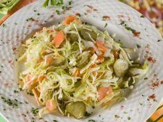 Falusi saláta recept