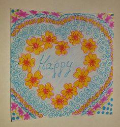 Happy Zentangle