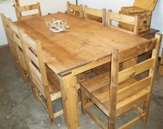 Dining Room - ROUGH COUNTRY RUSTIC FURNITURE & LODGE DECOR
