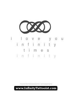 Kind of want a double infinity tattoo Infinity Times Infinity, Double Infinity Tattoos, Mini Tattoos, New Tattoos, Tatoos, Sister Tattoos, Revenge Quotes, Revenge Tv, Infinity Tattoo Meaning