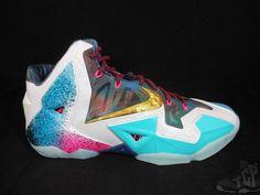 2014 Nike Air Lebron XI 11 s sz 9 X WHAT THE mvp Champion South Beach DS Cavs #Nike #AthleticSneakers #tcpkickz