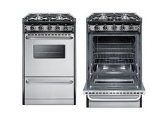 """Summit 20-Inch Range for those who need a """"real"""" oven and stovetop!"""