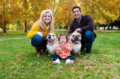Family Pictures 2012 with dogs