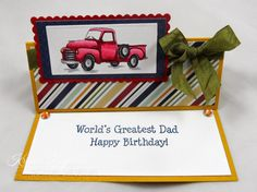 #The Rubber Cafe' #masculine card #birthday #fun fold