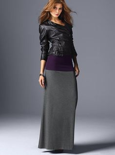 Not too sure about the top, but the maxi is definitely something to wear this fall. I wonder if my hubby will buy it for me ;)