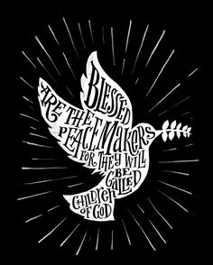 "Day ""Blessed are the peacemakers, for they will be called children of God."" ‭‭Matthew‬ ‭NIV‬‬ Ipad lettering with Scripture Lettering, Scripture Art, Ipad Art, Photoshop Art, Beatitudes, Daughter Of God, Chalkboard Art, Mail Art, Lettering Design"