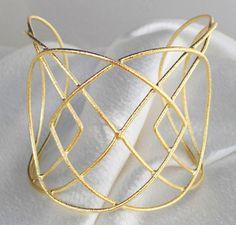 Pulseira Folheada Ouro LUELA / Bracelet - PAT BIJOUX Online - Loja Virtual de SemiJoias em Prata e Folheados