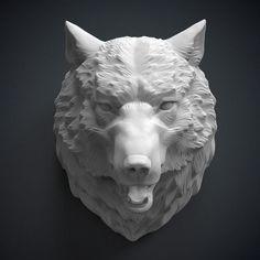 Large_wolf_head_sculpture_3d_model
