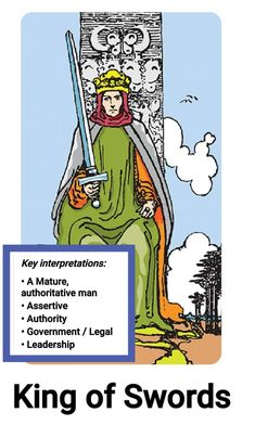 King Of Swords, Daily Tarot, Assertiveness, Leadership, Comic Books, Comics, Cartoons, Cartoons, Comic