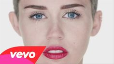 Miley Cyrus - Wrecking Ball  I personaly love the concept of this video i think it was amazing couldnt have been better