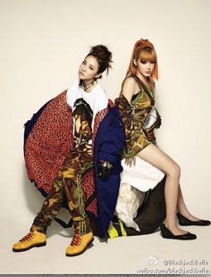 #2NE1 #Dara #Bom
