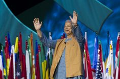 201RI Convention Presentation by 2006 Nobel Peace Prize Laureate and Grameen Bank Founder, Dr. Muhammad Yunus at the Second Plenary Session. RI Convention, 7 May 2012, Bangkok, Thailand.