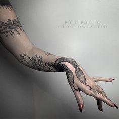 Tattoo Philip Milic - Tours,Trips,Home Decoration,Hairstyle Full Tattoo, 1 Tattoo, Snake Tattoo, Hand Tattoos, Body Art Tattoos, Girl Tattoos, Design Tattoo, Tattoo Designs, Gotik Tattoo