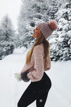 Cute Poses For Pictures, Snow Pictures, Snow Photography, Photography Poses, Baby Boy Snowsuit, Baby In Snow, Winter Instagram, Outfit Invierno, Snow Girl