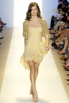 Monique Lhuillier Spring 2005 Ready-to-Wear Fashion Show - Caroline Francischini