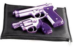 Purple SCCY 9Mm   Purple Revolver Gun