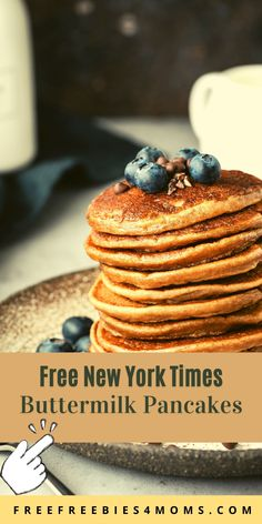 Free New York Times Buttermilk Pancakes: 4 IHOP Pancakes To Try Apply here for Free IHOP Gift Card Worth $100