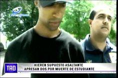 Hieren Supuesto Asaltante Apresan Dos Por Muerte De Estudiante #Video