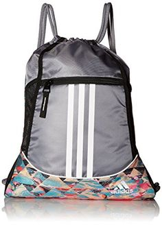 Amazon.com : adidas Alliance II Sackpack : Gym Drawstring Bags : Sports & Outdoors