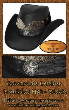 653917f3afc Leather Hat Collection From Tribal And Western Impressions Extensive  Designer selections!