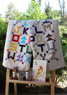 Little Letters - free quilt along from Temecula Quilt Company