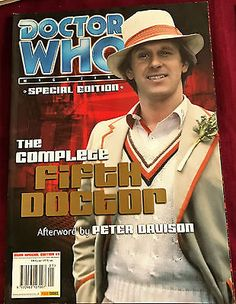 Vintage dr who #magazine special edition - the #complete fifth #doctor - 2001,  View more on the LINK: http://www.zeppy.io/product/gb/2/152418311840/