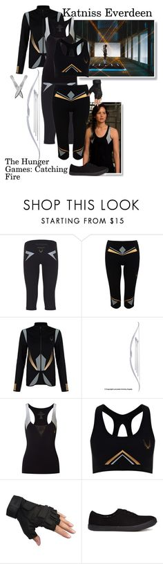 """""""Katniss Everdeen - The Hunger Games: Catching Fire"""" by gone-girl ❤ liked on Polyvore featuring Lucas Hugh and Call it SPRING"""