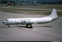 Ansett Air Freight Lockheed L-188A(F) Electra Melbourne - Tullamarine (MEL / YMML) Australia - Victoria, March 1982