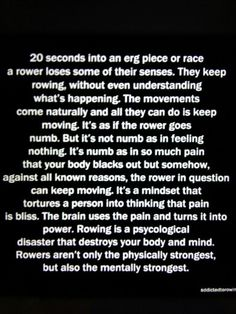 Rowing is a pain for your body and mind, but yet we keep on doing it day in and day out. Row Row Your Boat, Row Row Row, The Row, Rowing Memes, Rowing Quotes, Rowing Workout, Yoga Workouts, Workout Tanks, Workout Gear
