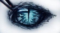 Cheshire cat eye by ryky.deviantart.com on @deviantART
