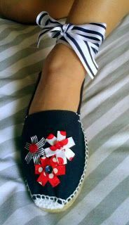 Forrar Zapatos, Alpargatas Capazos, Sombreros De, De Paja, Buenas Ideas, Maria Suanzes, Good Ideas, Shoes Lining, Baskets Espadrilles