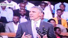 "[Collection] ""Kenyatta Airport lost my luggage"" - POTUS Barack Obama..."