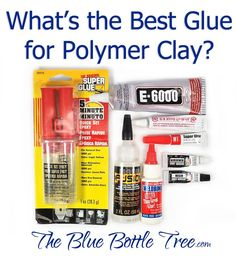 What is the best glue for polymer clay? What is the best strategy for bonding polymer clay to metal, to itself, to crystals? Read more at The Blue Bottle Tree.