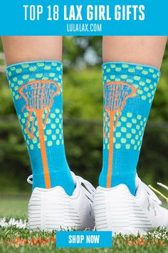 Rock your love for lacrosse from head to toe with our best selling woven mid-calf lacrosse socks! The bright, vibrant colors are so much fun and are sure to stand out on the field! Lacrosse Socks, Girls Lacrosse, Calf Socks, Christmas Gifts For Girls, Green And Orange, Girl Gifts, Hunter Boots, Rubber Rain Boots, At Least