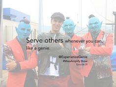 Joshua Dawson, founder of I Am Genie Foundation and Experience Genie on Episode #29 of  #MassAmplify Show http://traffic.libsyn.com/massamplifyshow/Mass_Amplify_Show_Jashua_Dawson.m4a