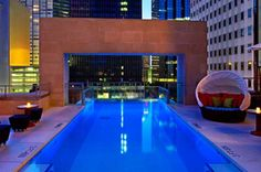 This hotel is home to an 8,000 square foot spa and nearby yoga and fitness studio. Its most famous f... - The Joule Dallas