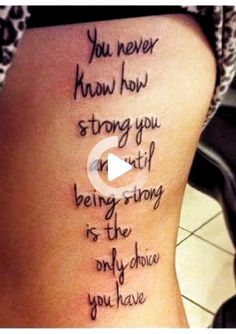 This Pin was discovered by Kulugecemyaren. Discover (and save!) your own Pins on Pinterest. #thightattoos Unique Tattoos For Women, Meaningful Tattoos For Women, Meaningful Quotes, Mom Tattoos, Tattoos For Guys, Sleeve Tattoos, Small Flower Tattoos, Small Tattoos, Thigh Tattoo Quotes