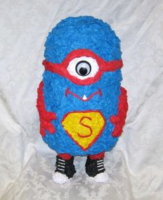 Marvelous Marvin Super Hero Monster Pinata - MADE TO ORDER