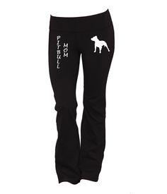 Pitbull Mom Yoga Pants
