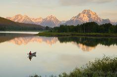 Lago Jackson, Wyoming (Estados Unidos)