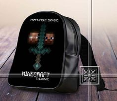 Famous Figure Game For Miner The Movie - Game Design For Kids School Bag Backpack