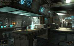 Deus Ex Human Revolution - User Interface on the Wacom Gallery