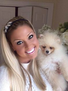 Pommy Mommy of the Week: Tiffany Butler - Where Mommies of the Pomeranian Dog Breed can gather, socialize and find organic home made dog treats