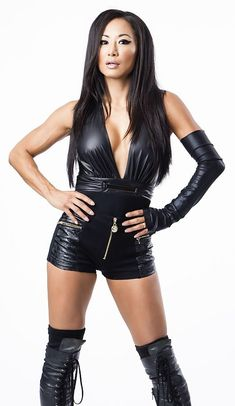 Gail Kim - Former WWE Diva and current TNA Knockout http://hubpages.com/sports/pro-wrestling-illustrated-pwi-female-top-50
