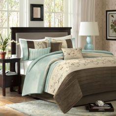 Madison Park Serene 7-Piece Comforter Set - BedBathandBeyond.com
