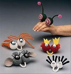 a how to make finger puppets