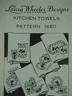 Vintage Transfer Pattern Scotty Dog Scottie Puppy Dow 40s Embroidery