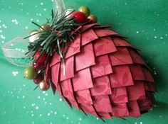The Creative Cottage: I Sold Two More Pinecone Ornaments!