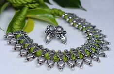 Ethnic Jewelry, Jewelry Art, Silver Jewelry, Jewelry Accessories, Silk Bangles, Fashion Jewellery Online, Oxidised Jewellery, Handmade Jewelry Designs, Imitation Jewelry