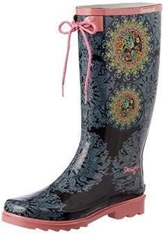 Onfly New Bottes de pluie femmes chaussures d'eau 2018 été dames bottes de pluie en caoutchouc blanc amour coeur eu size (Couleur : UNE, Taille : 39)